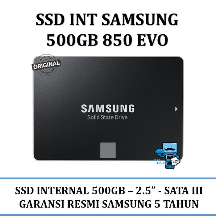 Samsung 500 gb 850 evo internal ssd / solid state drive