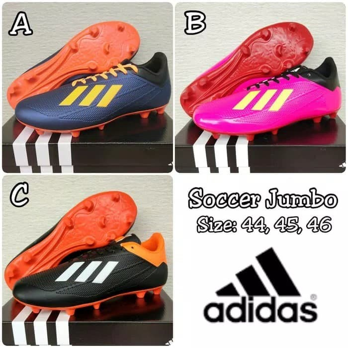 Jual Sepatu Bola Ukuran Besar Jumbo Big Size 44 45 46 Kode Adidas 01 ... 6e7f535e24
