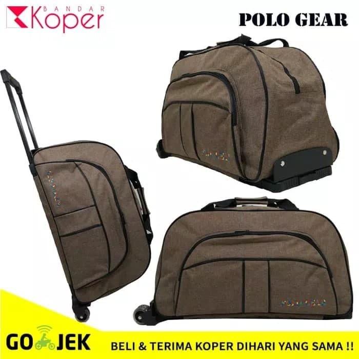 harga Tas travel bag trolley polo import murah-promo Tokopedia.com