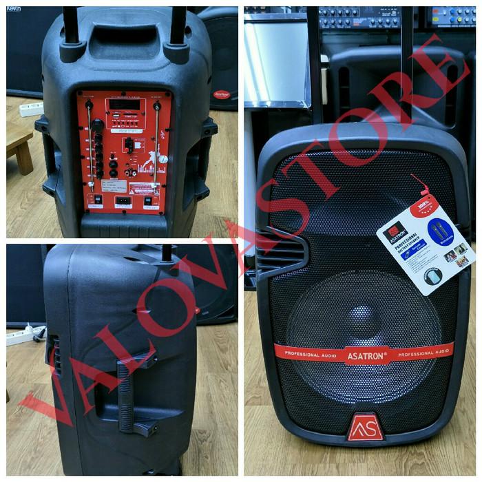 harga Speaker portable wireless meeting asatron ht 8870 ( 12 inch ) Tokopedia.com