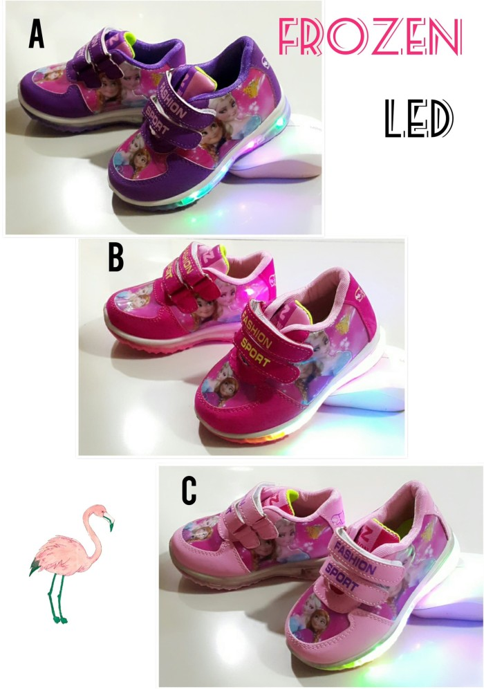 Harga Jual Sepatu Anak Perempuan FROZEN LED Di Jakarta - Ftwringzuj fe77a1c93c