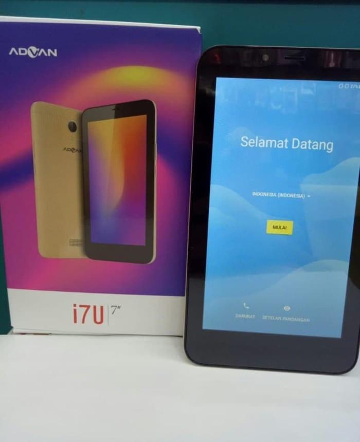 NEW- ADVAN VANDROID TAB I7U LITE 4G LTE 2GB - 16GB 7 IN Berkualitas