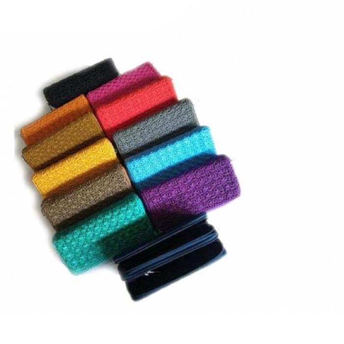 Harga jogja craft kotak jam tangan isi 6 mix cincin   HARGALOKA.COM. Source · Tas Kerajinan Jogja - Tas Rajut Nylon -dompet Rajut Panjang Nylon