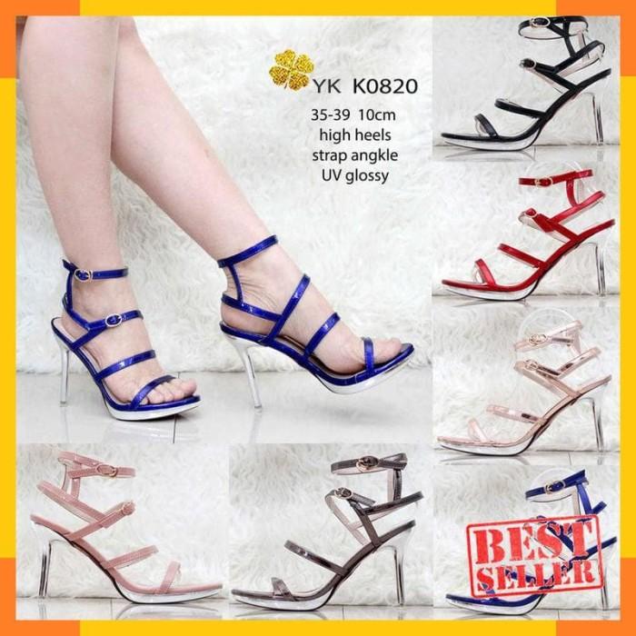 Sepatu Harga terupdate 2 jam lalu Source · YKshoes 0820 highheels high heels strap shoes import