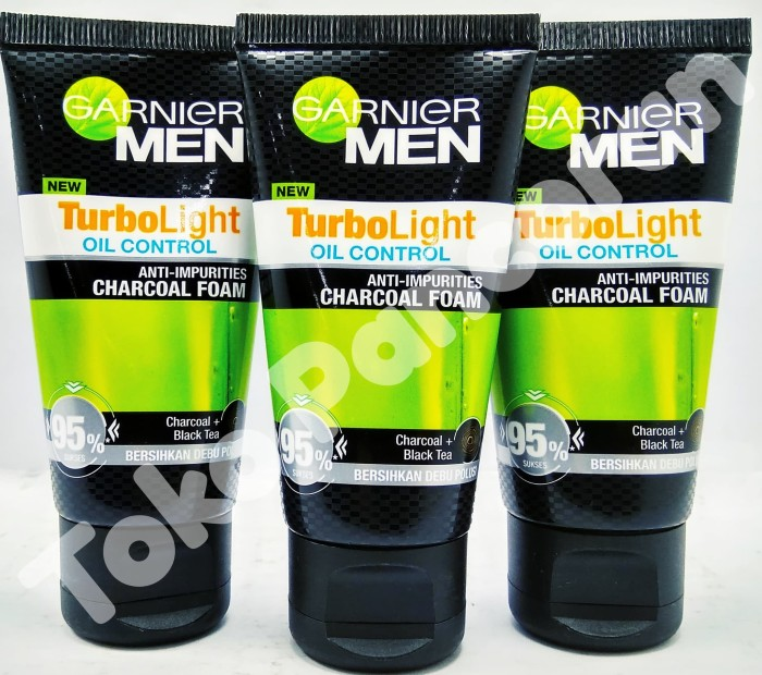 GARNIER ( MEN ) Anti -Impurities Charcoal Foam 50 ml