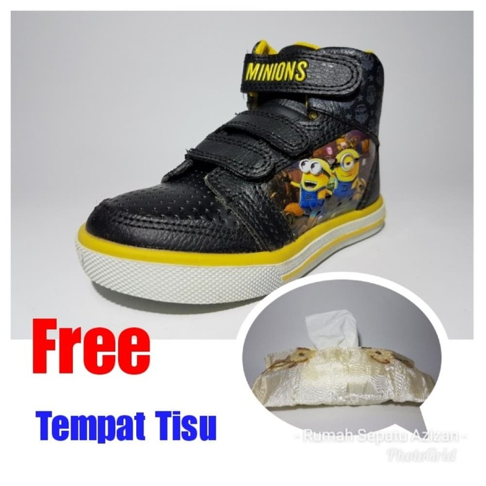Jual Special Price SEPATU ANDO MINION Boots ORIGINAL - 24 - Sepatu ... f3ccce7604