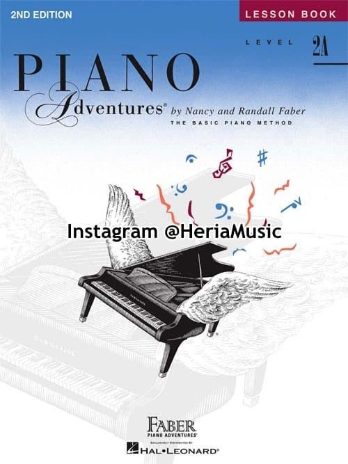 Foto Produk Piano Adventures Level 2A Lesson Book 2nd Edition dari HERIA MUSIC