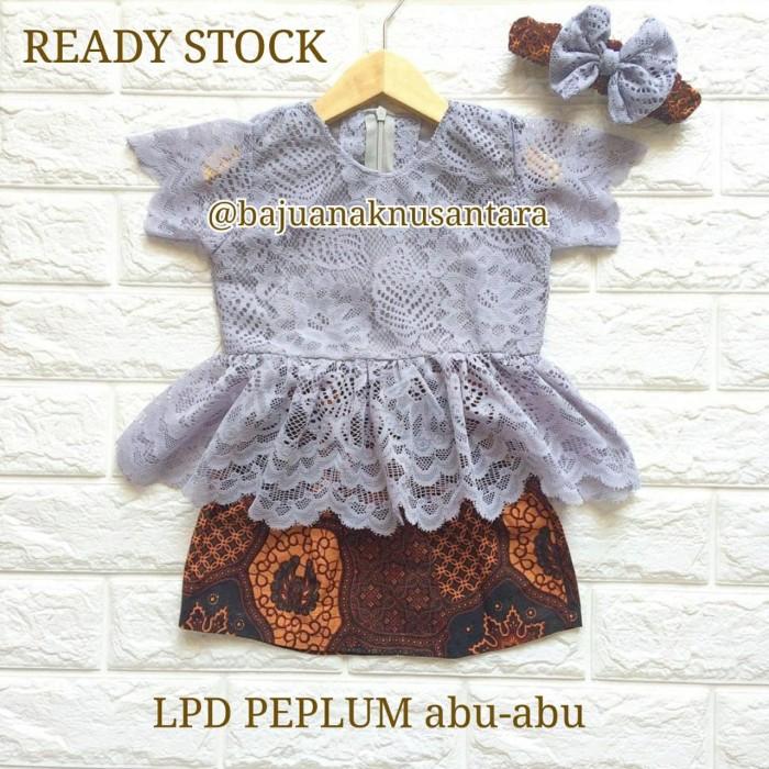 Jual Ready Stock Kebaya Modern Peplum Lengan Pendek Anak Warna Abu Abu 5 6 Tahun Kab Nganjuk Baju Nusantara Shop Tokopedia