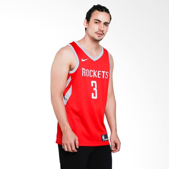 cheap for discount bbd4a 233c9 Jual NIKE Men Basketball Chris Paul Houston Rockets Jersey Road Basket -  Jakarta Selatan - Surabaya Unik   Tokopedia