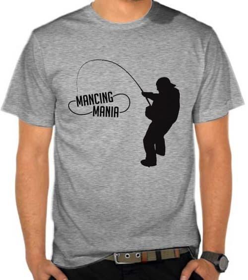 kaos/baju/t-shirt distro mancing mania mantap