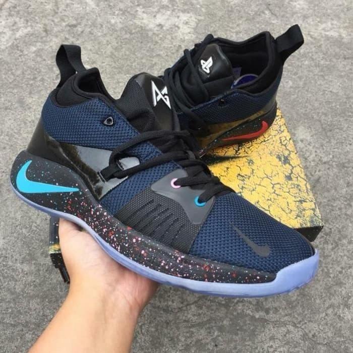Jual Nike PG 2 Playstation Black Racer Blue - Sri NJ  4a9dfc7b9