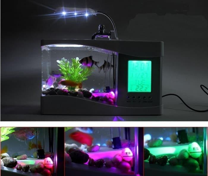 harga Jual nano usb mini aquarium akuarium dekstop meja Tokopedia.com