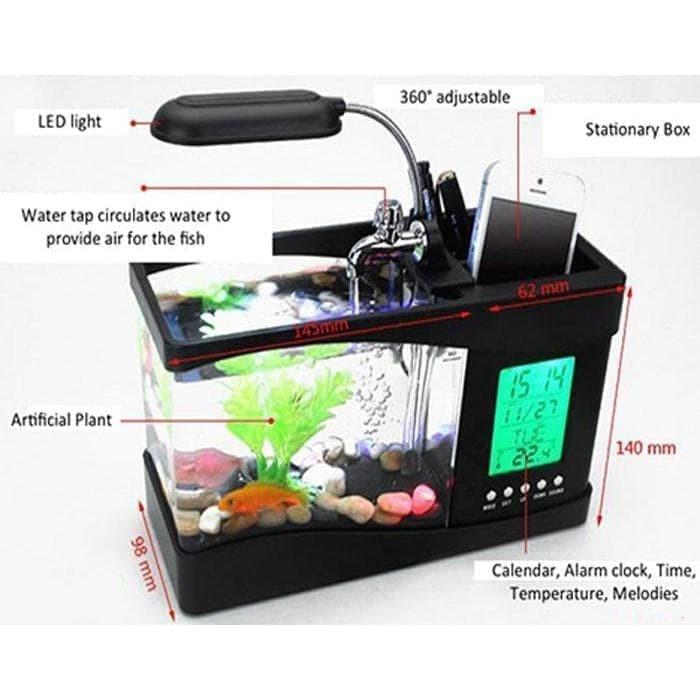 harga Jual nano usb mini aquarium akuarium dekstop meja * Tokopedia.com