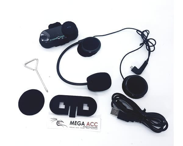 harga Jual bt bluetooth motorcycle helmet intercom t-com vb with fm radio * Tokopedia.com