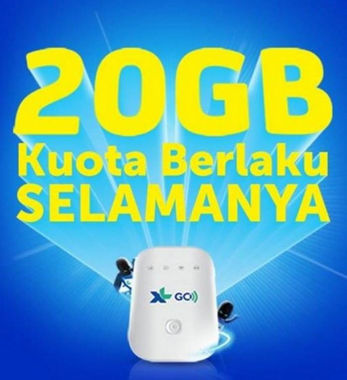 Mifi Modem Wifi 4G XL Go Movimax MV003 Free 60Gb 60Hari [BEST SELLER] - Putih