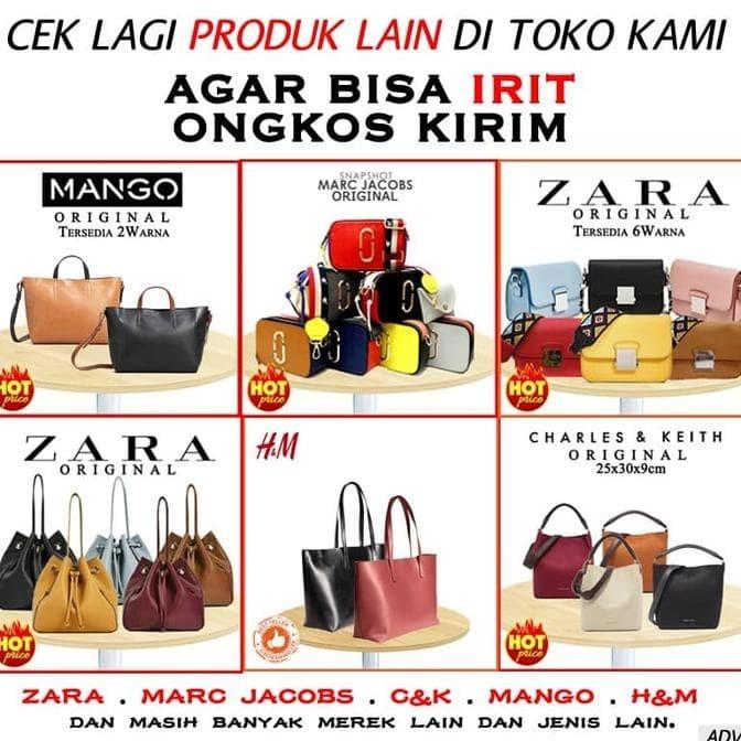 Jual Best Seller- Tas Zara Sling Bag Original - Hitam Terbaru ... 2b092505a2
