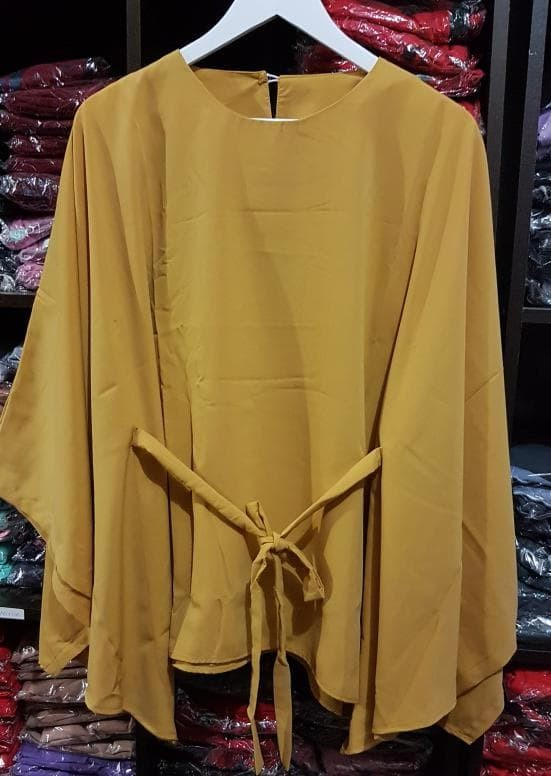 Promosi Atasan Wanita Clove Blouse Tunik Baju Muslim Blus Muslim -