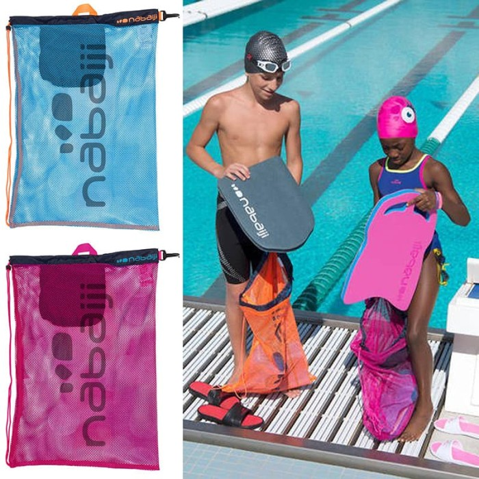 Large Mesh Pool Bag / Tas Peralatan Renang NABAIJI DECATHLON