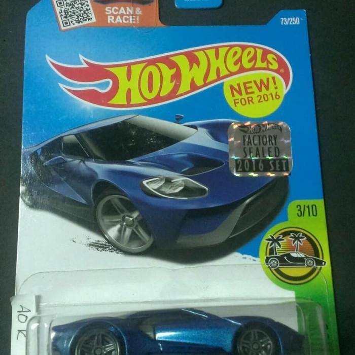 Jual Hotwheels  Ford Gt Factory Seal Card Amerika