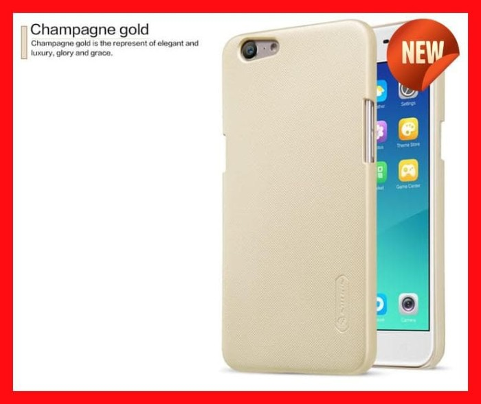 Oppo A39 Nillkin Frosted Shield Back Hard Case Casing Cover Pelindung