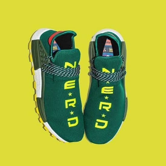 35116f90c Jual Adidas Pharrell Williams Human Race NMD HU Nerd Green Premium ...