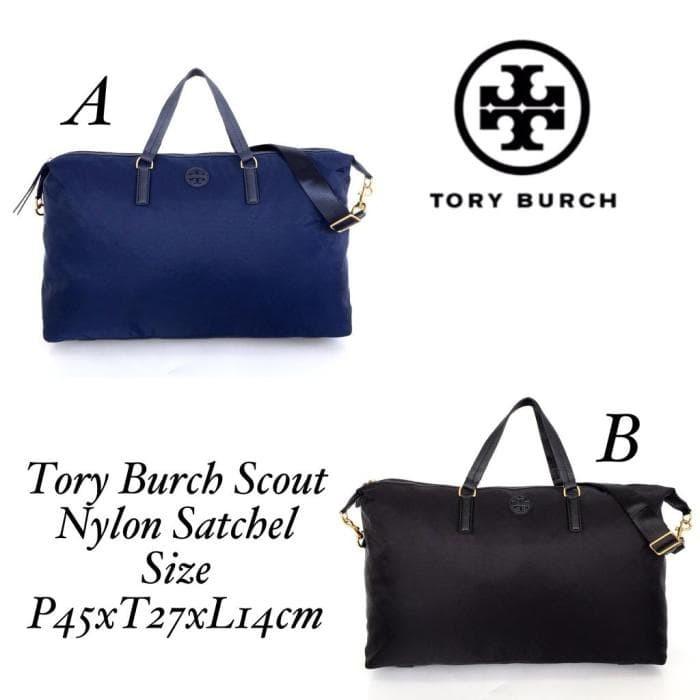 9af333e32e5 Jual TORY BURCH Scout Nylon Satchel 100% ORIGINAL - Poca.Bhuth ...