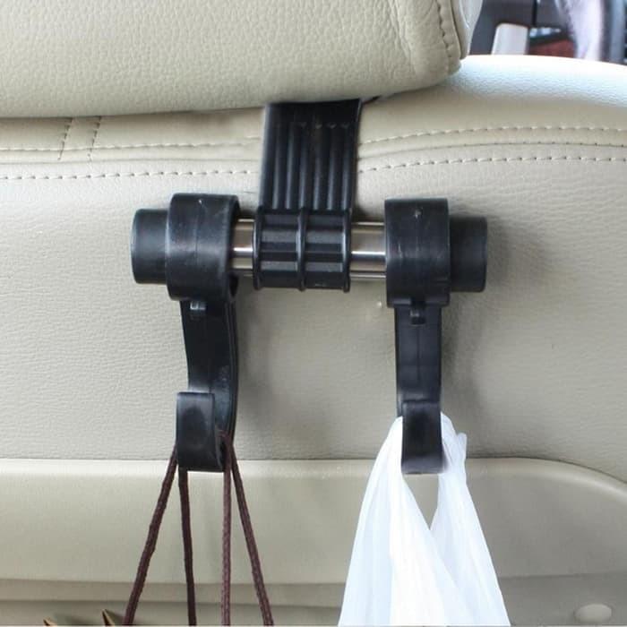 Gantungan Barang Mobil Car Seat Headrest Hanger Hook Holder Organizer