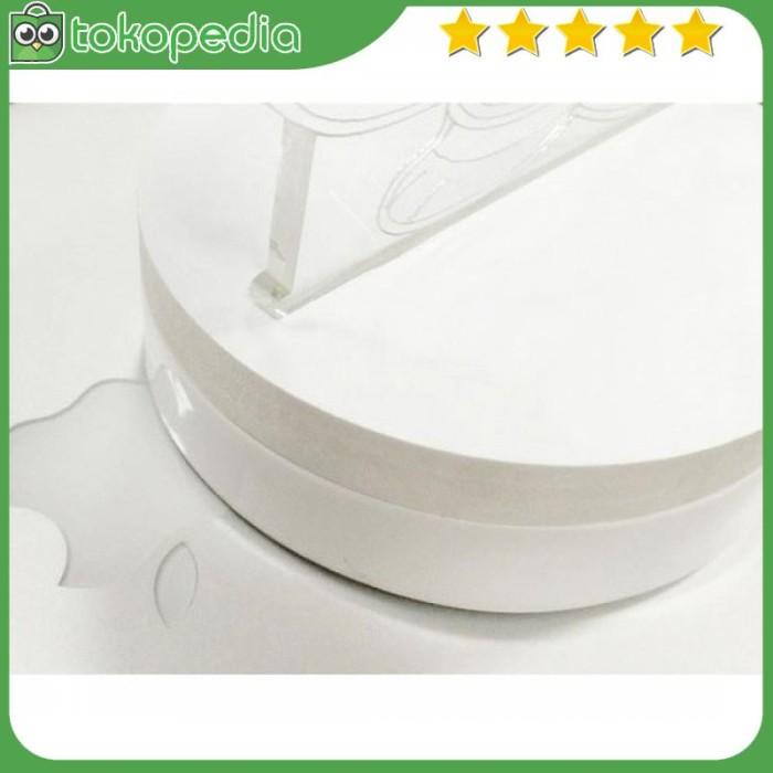 Lampu 3D LED Transparan Design Tengkorak - Putih -R590