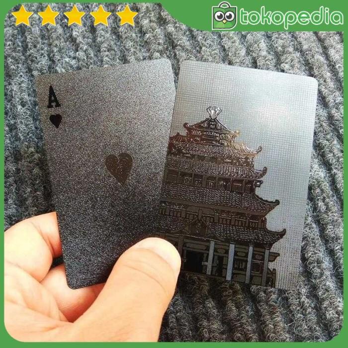 Kartu Poker Remi Plastik Waterproof - K8356 - Model 1 -M88