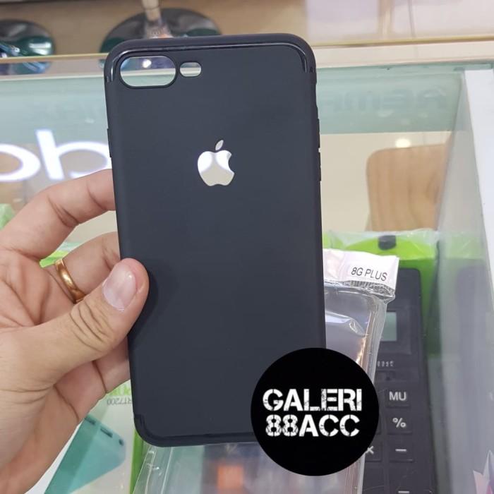 newest collection 1f363 3a5ba Jual Slim Case Matte Black Baby Skin For Iphone 8 Plus Logo Apple - Kota  Tangerang - Galeri88Acc | Tokopedia