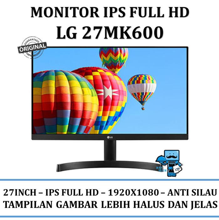 harga Monitor led lg 27mk600 full hd 27inch - original Tokopedia.com