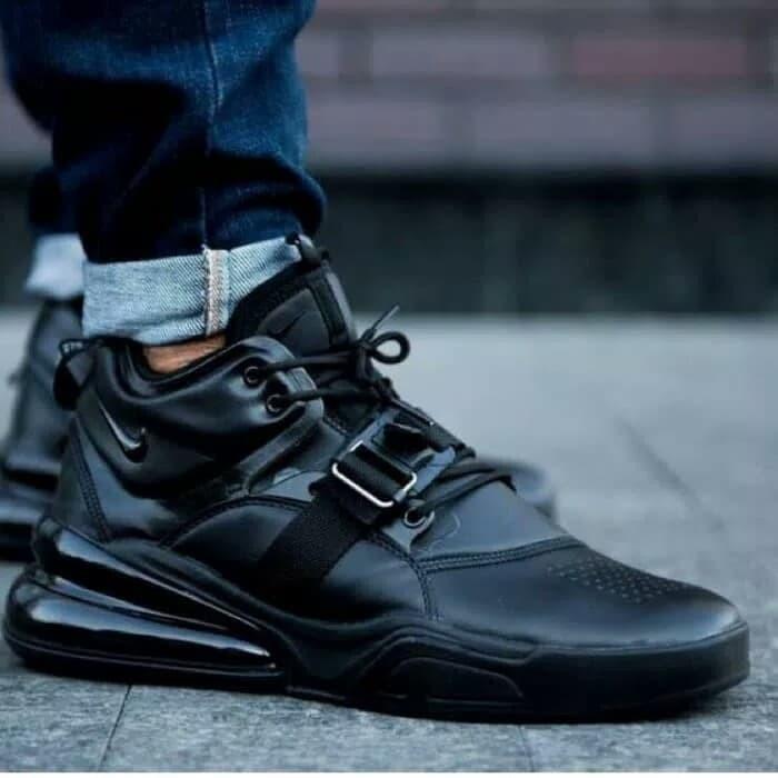 Jual Nike Air Force 270 Triple Black -Premium Quality - DKI Jakarta ... 73fe31b0c