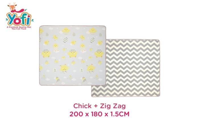 Jual Yofi Playmat Xpe Roll Premium Playmat 200x180x1 5cm Chick Zigzag Jakarta Barat Pinkybabyshop Tokopedia