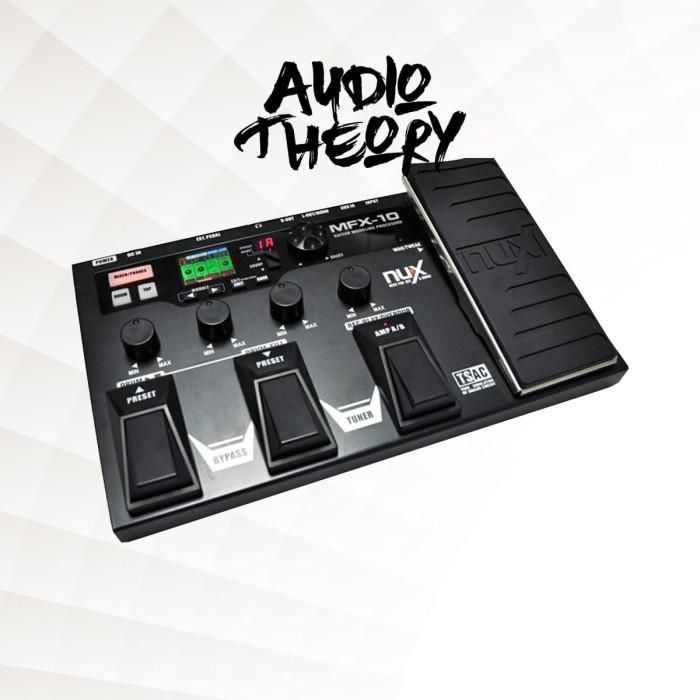 harga Stompbox nux mfx-10 guitar modeling processor - effect efek pedal Tokopedia.com