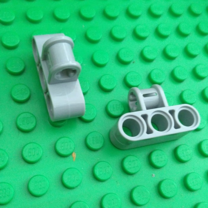 New LEGO Lot of 4 Green 3x2 Curved Foot Brick Pieces