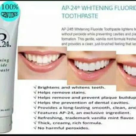 Jual Ap24 Whitening Toothpaste Nu Skin Pemutih Penghilang Plak