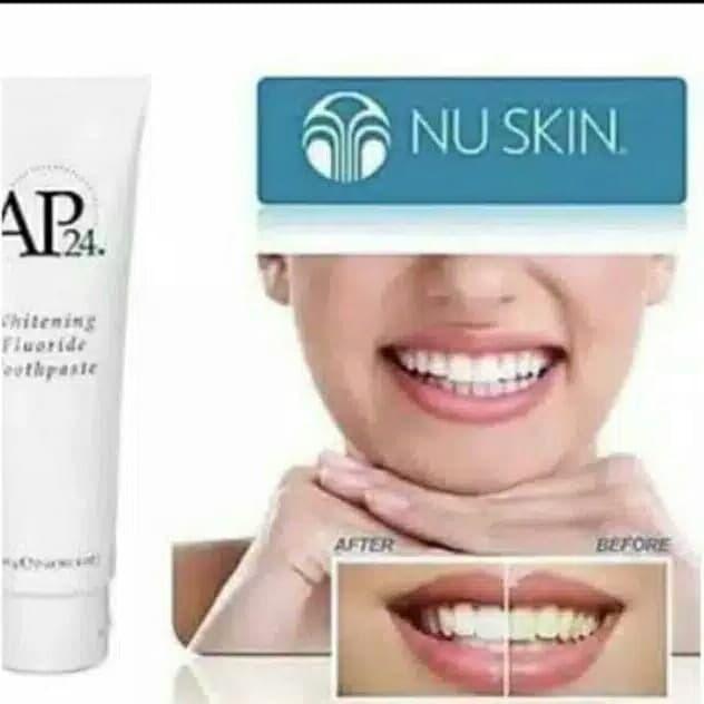 Jual Ap24 Whitening Toothpaste Nu Skin Pemutih Penghilang Plak Pada Gigi