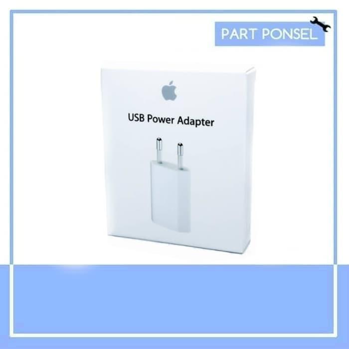 Foto Produk Adaptor kepala charger iPhone x 5 5s 6 plus 6s 7 8 plus original dari Partponsel