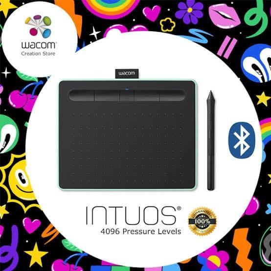 harga Wacom intuos draw drawing tab tablet ctl6100wl ctl-6100wl bluetooth Tokopedia.com