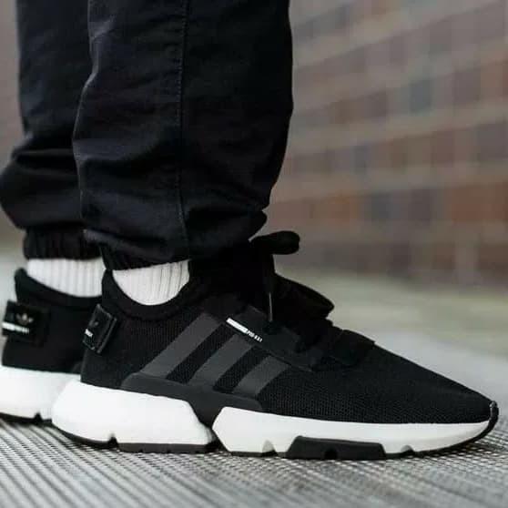 4dd9852447aeb Jual Sepatu Adidas Pod System 3 1 Black Premium Quality Original