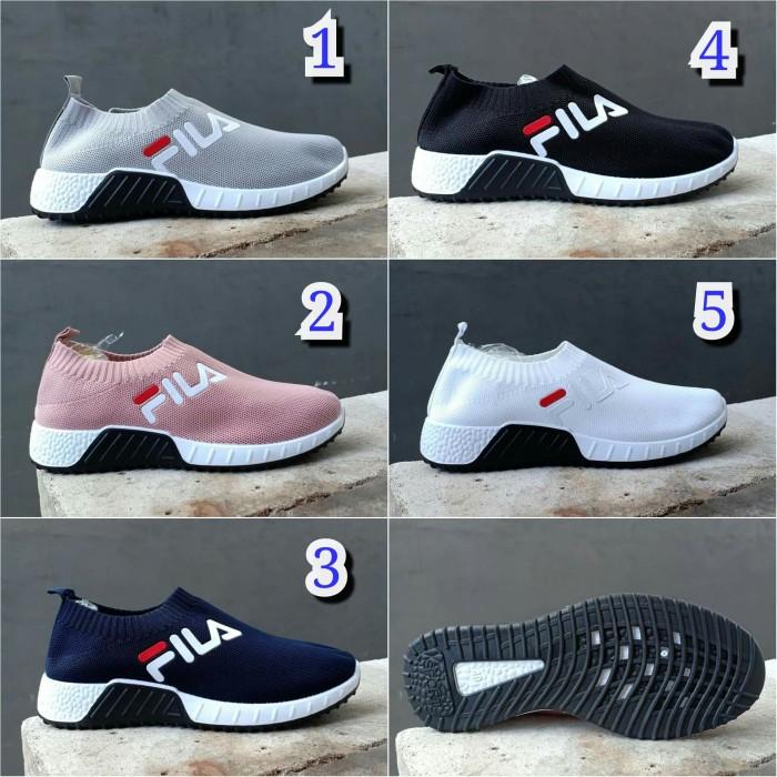 Jual sepatu fila boost slip on running