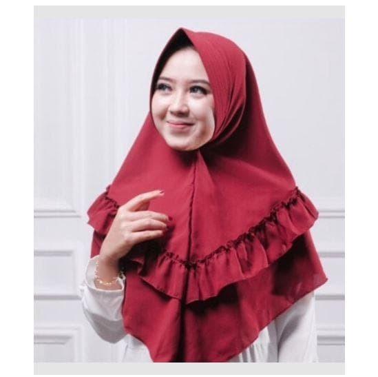 Jual Jilbab Kerudung Hijab Instan Khimar Pet Rempel Tengah Clara Kota Bekasi Gudangsembako88 Tokopedia