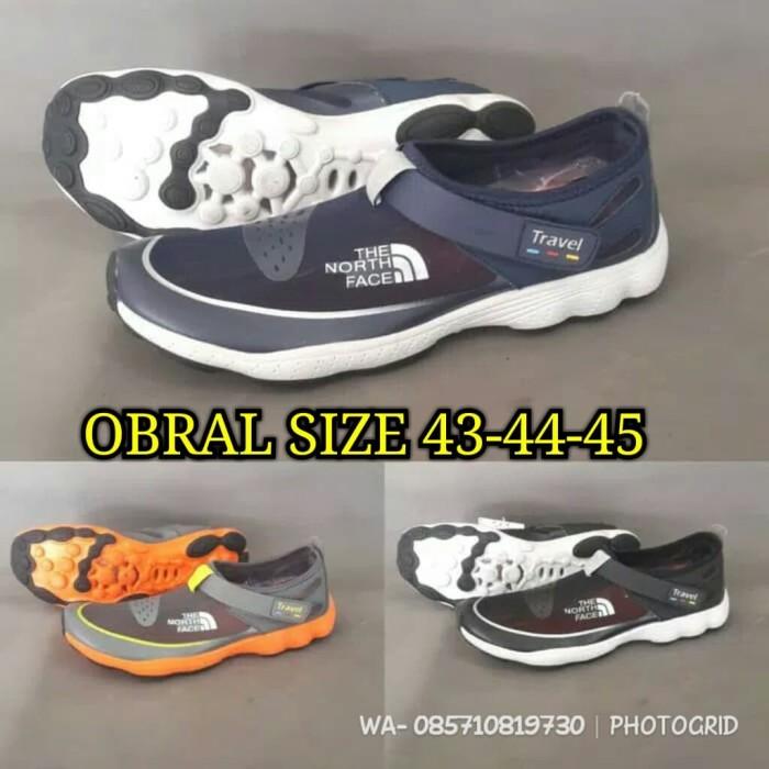 harga Sepatu the north face tnf/sepatu slop/sepatu slip on/sepatu gowes Tokopedia.com
