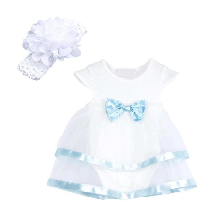 Promo Musim Panas Putih Ruffle Renda Baju Monyet Bayi yang baru lahir