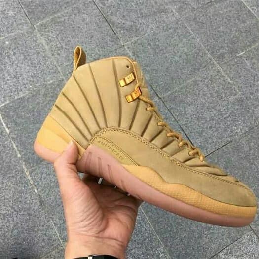 size 40 42119 5ea65 Jual Nike High Air Jordan 12 XII Wheat Suede Brown Perfect kick Original PK  - DKI Jakarta - Vicstoryshop | Tokopedia