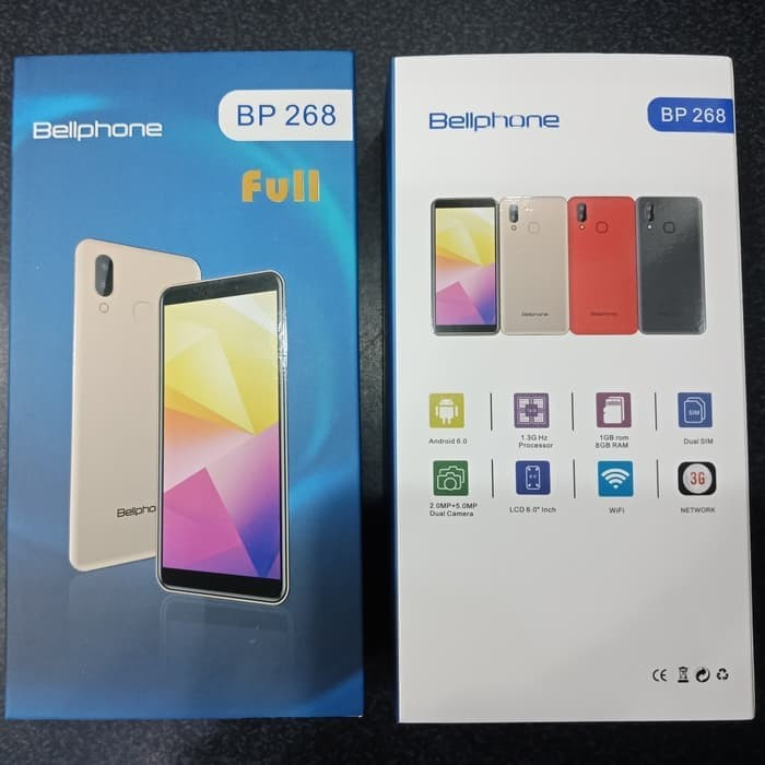 Jual Handphone Hp Bellphone Bp268 Full View Bp 268 Ram 1gb Rom