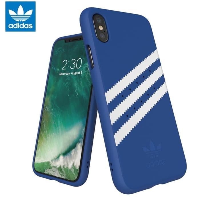 new style 881d6 62a79 Jual Adidas Originals Moulded Case iPhone X - Royal Blue - DKI Jakarta -  PicaPicoShop | Tokopedia
