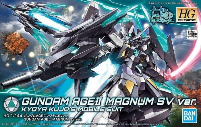 Foto Produk HGBD 1/144 Gundam AGE II Magnum SV Ver dari Hobby Japan