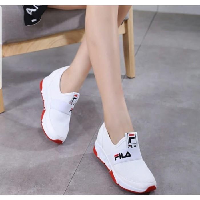 Jual Fashion Wanita Sepatu Sneakers Tanpa Tali Model Casual Santai