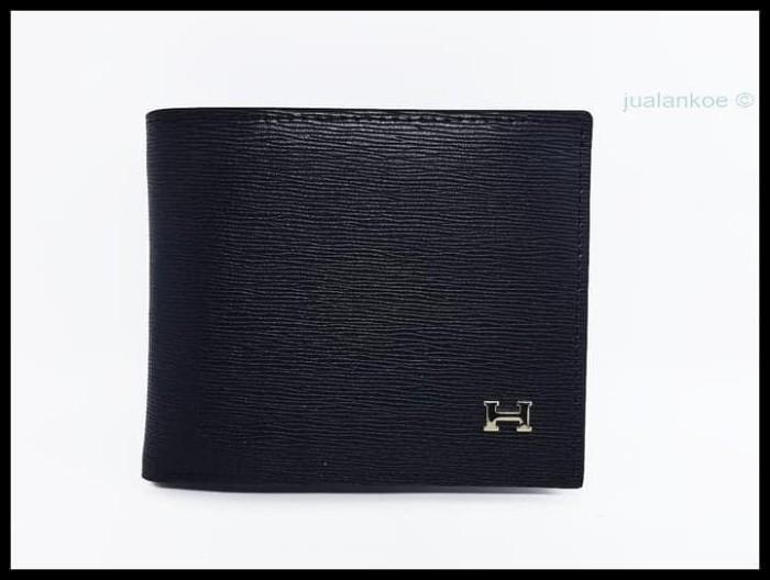 Jual HOT SALE dompet kulit pria Hermes DK128 black terjamin ... bf3a33e89e